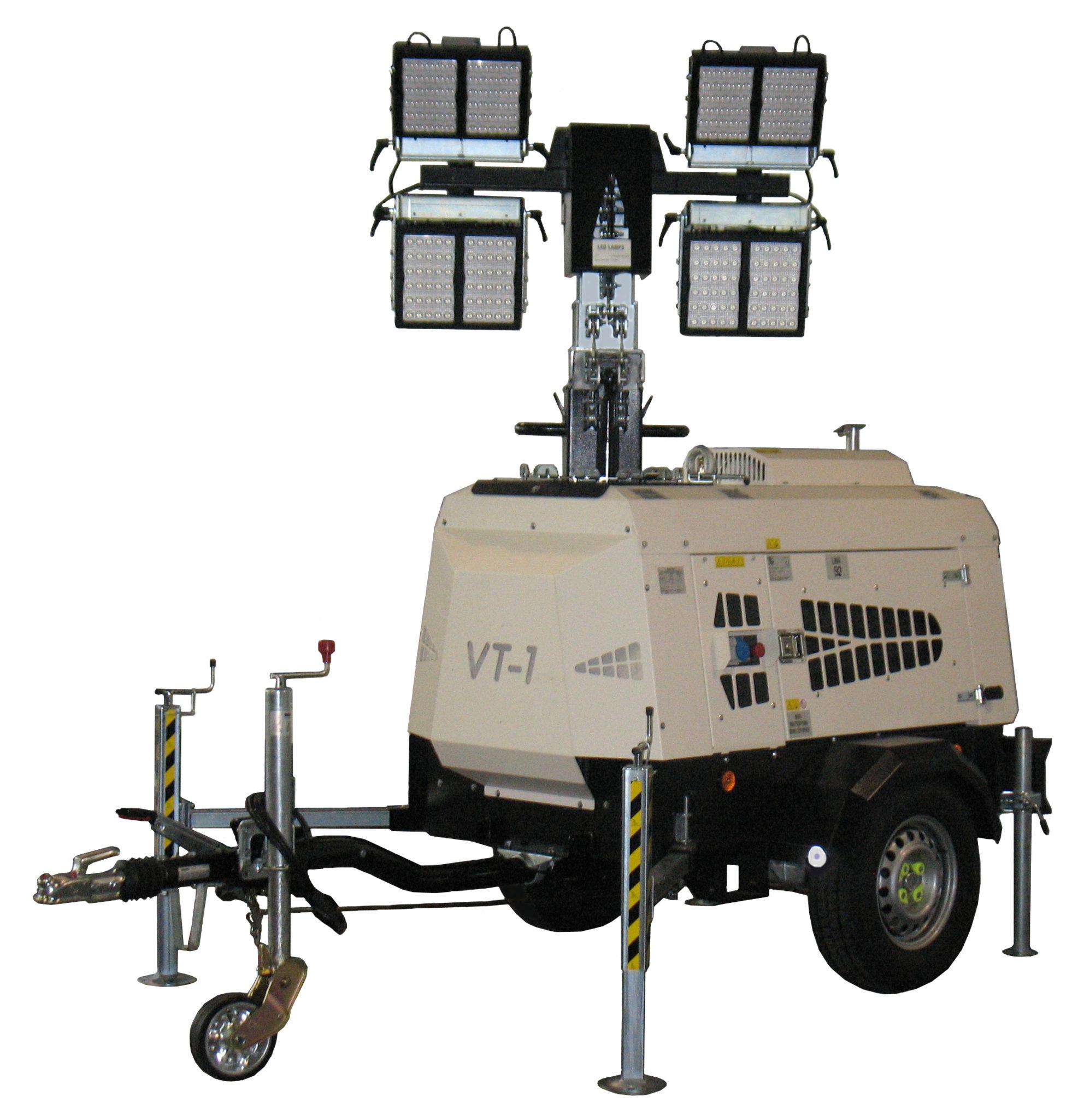 Lichtmasten, Baustellenausrüstung